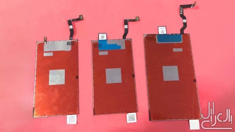 تسريب شاشة الايفون 7 والايفون 7 بلس