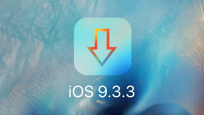روابط تحميل iOS 9.3.3