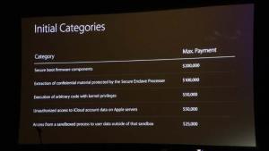 ابل في مؤتمر بلاك هات 2016 تعلن عن مكافآت مالية