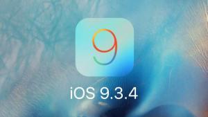 تحديث iOS 9.3.4