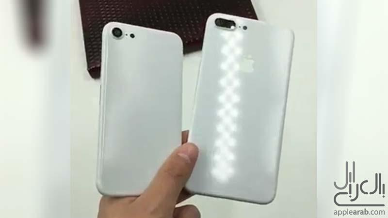ايفون 7 باللون الأبيض اللامع