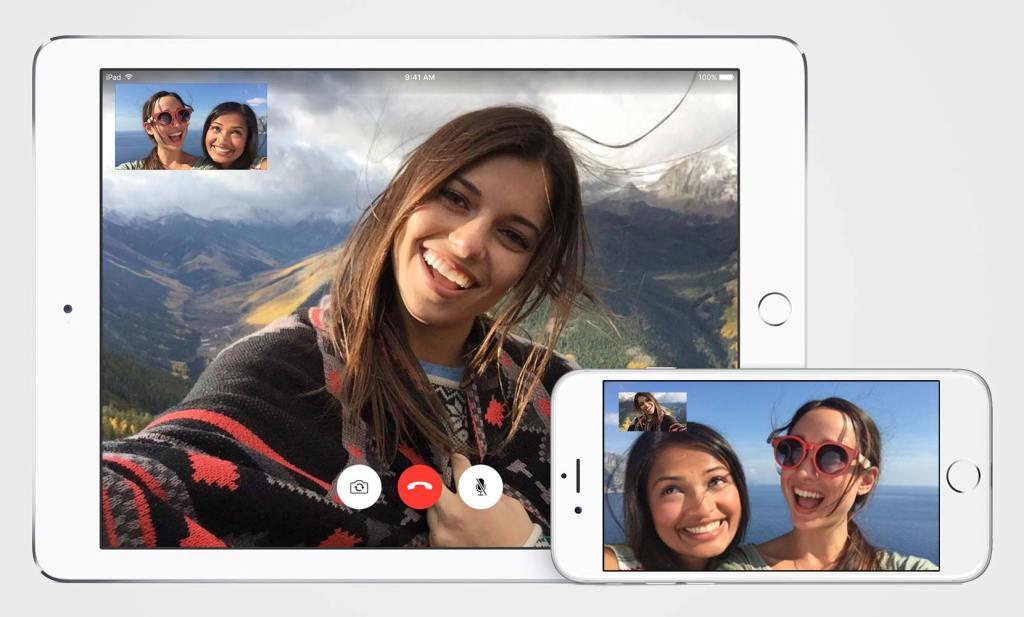 فيس تايم ايباد ايفون iOS 9