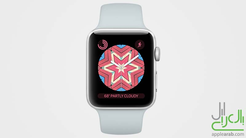 واجهة Apple Watch في watchOS 4