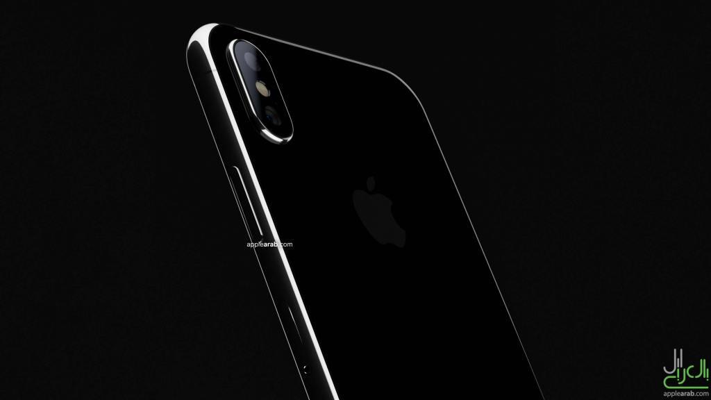 الايفون 8 أسود اللون