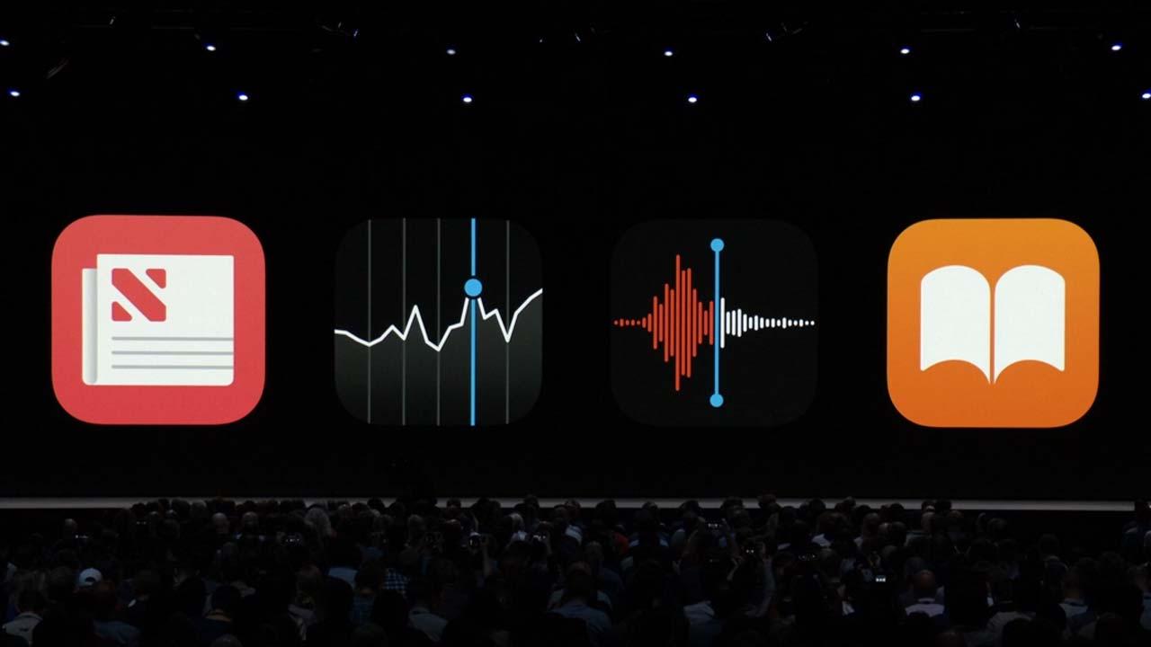 تطبيقات أساسية في iOS 12