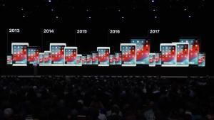 الأجهزة المتوافقة مع iOS 12
