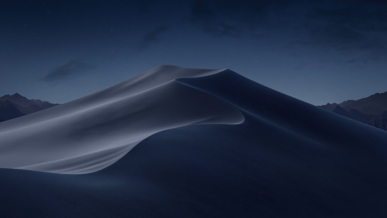خلفية macOS Mojave المساء