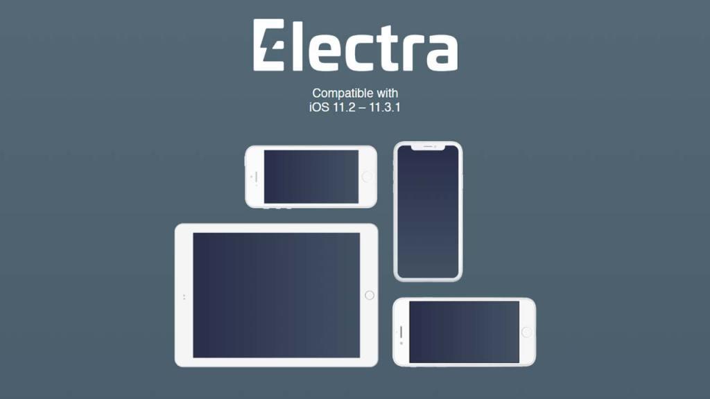 جيلبريك Electra لأنظمة iOS 11.2 حتّى iOS 11.3.1