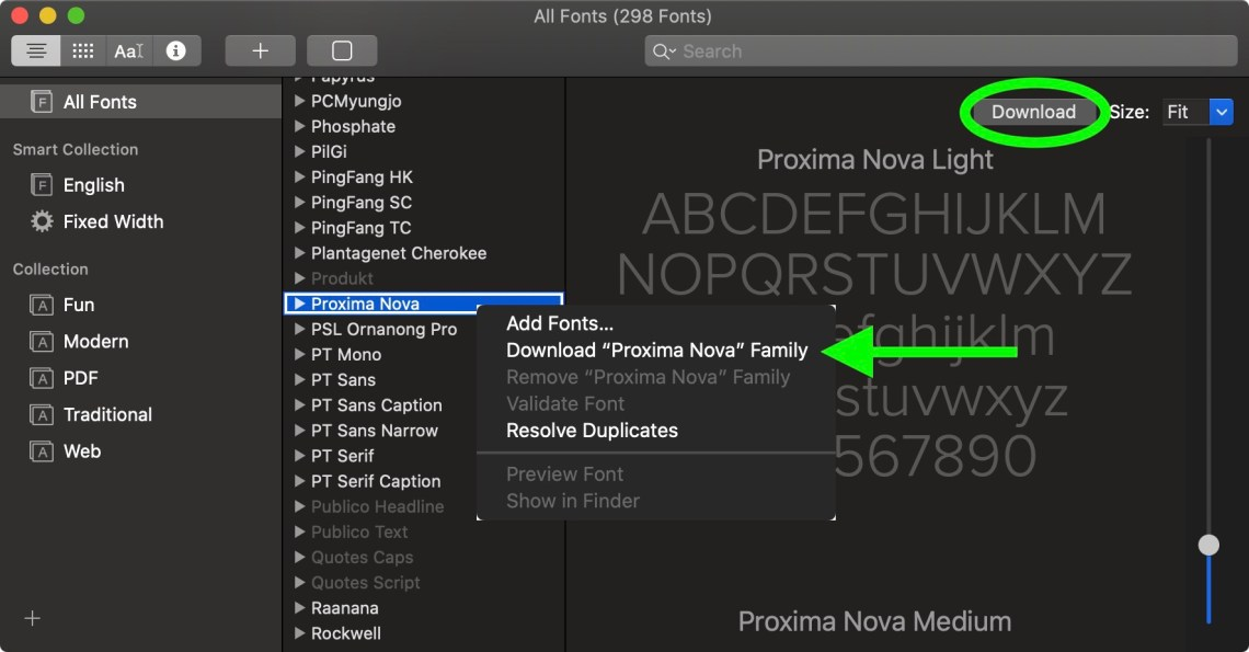 Download How to Install the New Free Mac Fonts in macOS Catalina ...