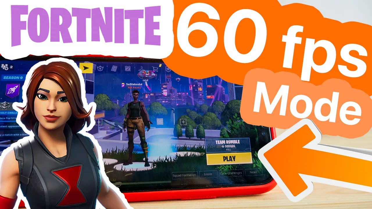 GET 60FPS on ANY DEVICE on FORTNITE MOBILE iPhone, iPad