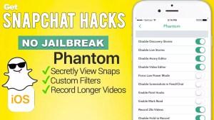 phantom for snapchat apps4iphone
