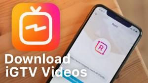 How to Download IGTV Instagram videos on iPhone, iPad (iOS No Jailbreak, No Revoke)