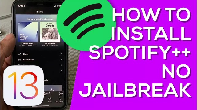 Spotify Plus | Spotify++ Download ( TweakBox, Tutuapp, AppValley )