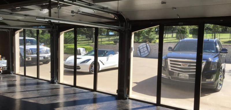 Lifestyle Garage Door Screen Reviews Garage Door Screens Sales And Installation