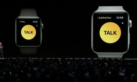 Walkie-Talkie функцията за Apple Watch всъщност е вариант на Face Time Audio