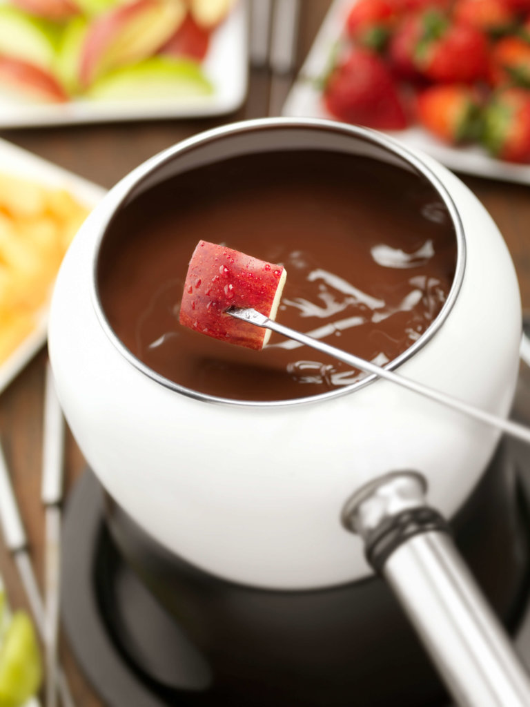 Chocolate Fondue There S An Apple For That