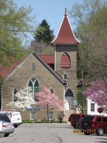 Anna M. Applegate church, 2014