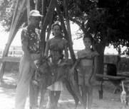 Bill and Dee Ann Patten, Rica and Barb Applegate, Monahans, 1952