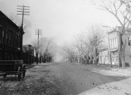 Corydon, Chestnut St. , from Mulberry, early 1900s