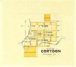 Corydon map, 1876