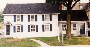 Applegate former home, 1994, Corydon