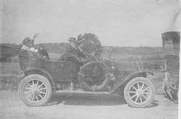 Geo. William Applegate II, first car