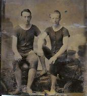 George William Applegate II on left (1875-1950)