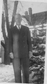 Geo Wm Applegate II (Papa), age 73