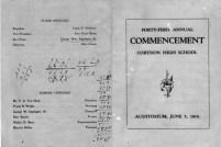 Geo W Applegate III high school graduation, 1919
