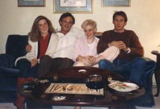 Geo Wm Applegate IV (Sonny) and children Mark, Elizabeth and Karen