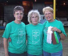 Barb, Rica, Grace, Pueblo, Colorado, July 2002