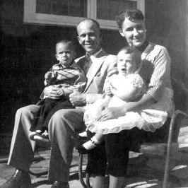 Ann, Larry, Pete and Julie, 1957