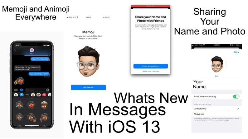 What's New in Messages with iOS 13