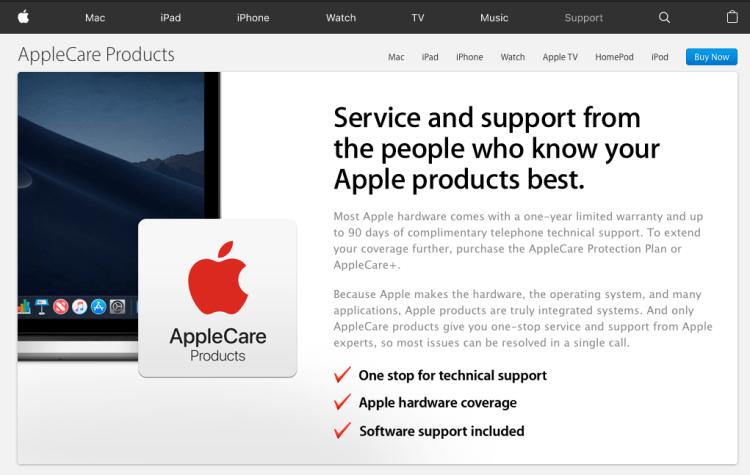 AppleCare+ v. AppleCare+ Theft and Loss