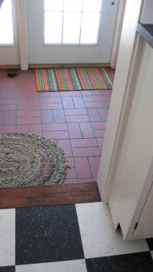 Mudroom floor