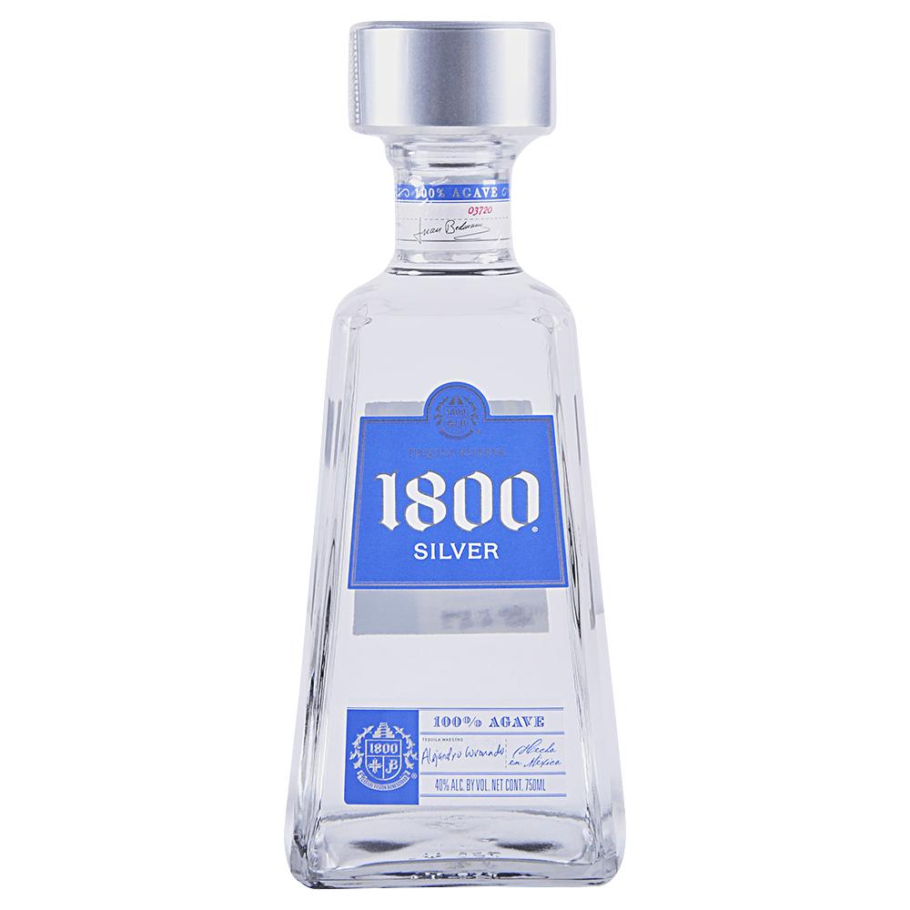 1800 Silver Tequila 750 ml - Applejack