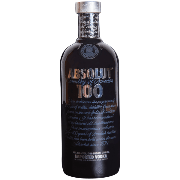 Applejack - Absolut 100 Vodka