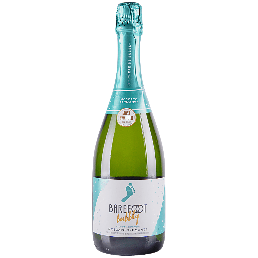 750 Ml Barefoot Moscato Bubbly Wine