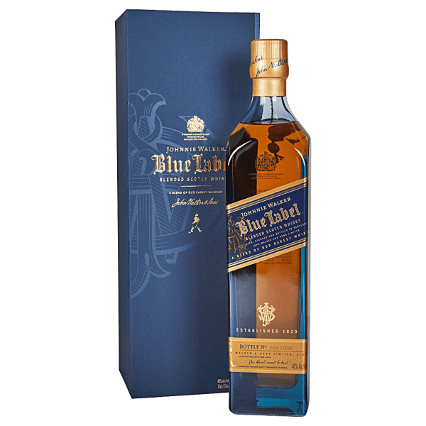 Applejack - Johnnie Walker Blue Label Blended Scotch