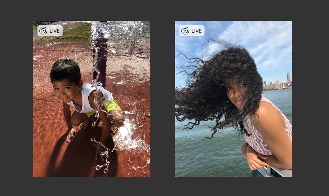 شرح تحويل الصور الحية (Live Photos) إلى مقاطع فيديو على iPhone