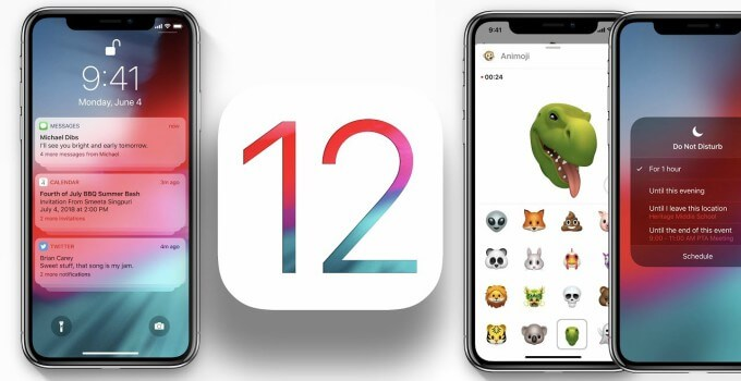 تحميل 1 iOS 12.1 Beta  بدون حساب مطور