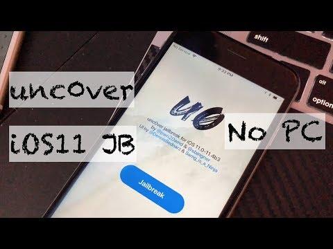 شرح جلبريك unc0ver دون كمبيوتر  iOS 11.0-11.4 Beta 4