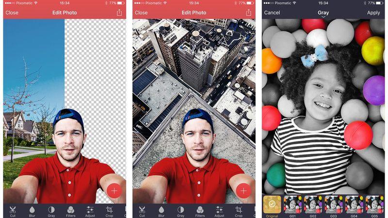 برنامج Pixomatic photo editor مجانا لوقت محدود على الايفون والايباد
