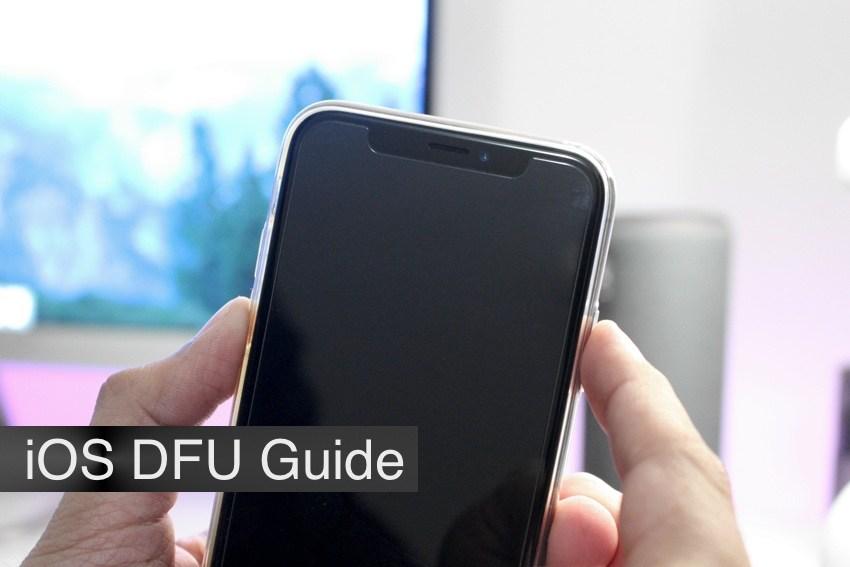 شرح الدخول إلى وضع DFU في أجهزة iPhone XS ، iPhone XS Max و iPhone XR