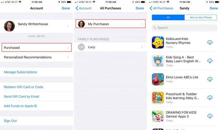 كيفية إعادة تنزيل التطبيقات التي تم شراؤها على نظامي التشغيل iOS و Mac