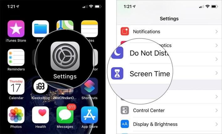شرح طريقة قفل التطبيقات الأيفون في iOS 12 بدون جلبريك