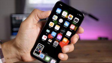شرح طريقة تصوير الشاشه للايفون iPhone X