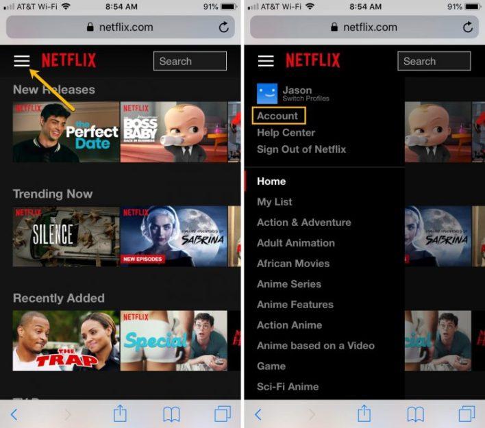شرح تسجيل الخروج من جميع الأجهزة على Netflix مرة واحدة