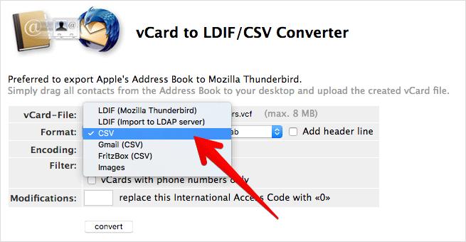 شرح طريقة تصدير جهات اتصال من الايفون إلى ملف Excel