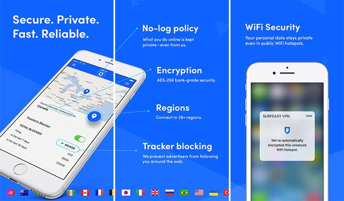 صورة برنامج VPN by SurfEasy